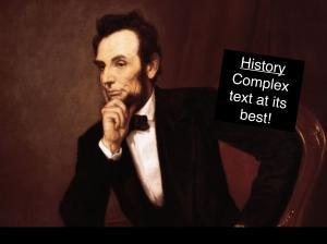 Lincoln complex text